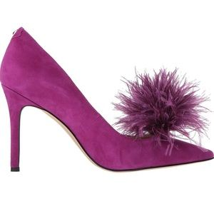 Sam Edelman laser purple size 9 pumps